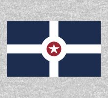 Indianapolis, California Flag by cadellin