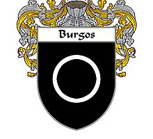 Burgos Coat of Arms/Family Crest by William Martin