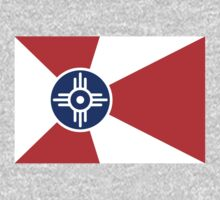 Wichita, Kansas Flag by cadellin