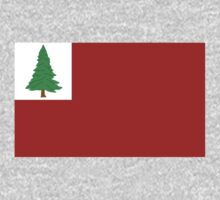 New England Pine Flag by cadellin