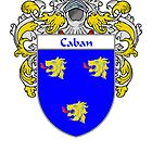 Caban Coat of Arms/Family Crest by William Martin