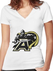 Army Black Knights Women's Fitted V-Neck T-Shirt