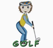 golfer by karen sheltrown