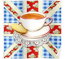 Big Old Blighty Cup of Tea! Poster