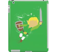 Splattery Link Wind Waker Design iPad Case/Skin