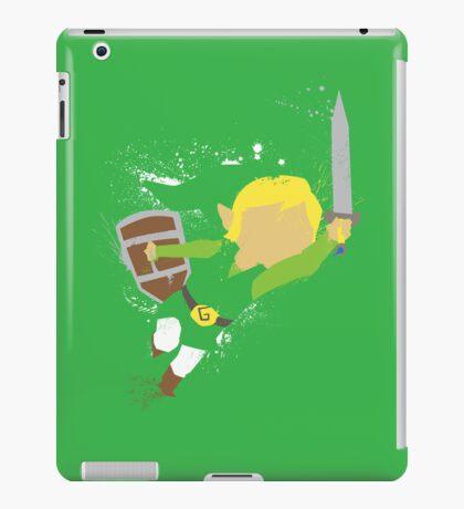 Splattery Link Wind Waker Design iPad Case/Skin