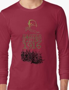 The Volunteers - Easter Rising 100th Anniversary Long Sleeve T-Shirt