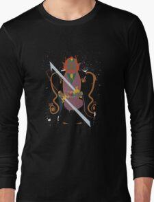 Ganon Wind Waker Splattery Design Long Sleeve T-Shirt