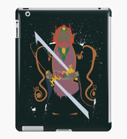 Ganon Wind Waker Splattery Design iPad Case/Skin