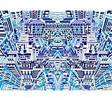 Deep Blue One Photographic Print