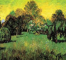 The Poet's Garden by Vincent van Gogh.   by naturematters