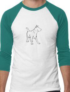 The Bull Terrier Men's Baseball ¾ T-Shirt