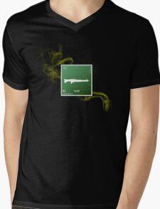 Breaking Bad final episode m60 machine gun Mens V-Neck T-Shirt
