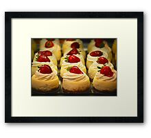 A New York Cheesecake Experience... Framed Print