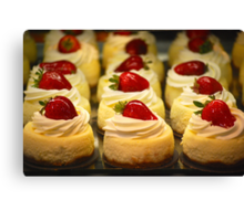 A New York Cheesecake Experience... Canvas Print