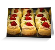 A New York Cheesecake Experience... Greeting Card