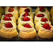 A New York Cheesecake Experience... Photographic Print