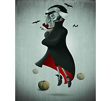 Halloween Vampire Photographic Print