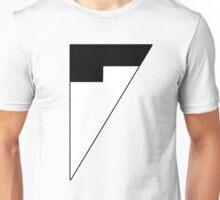 Morph - Black & White Unisex T-Shirt