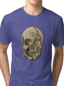 Skull Clothing and Stickers Tri-blend T-Shirt