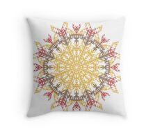 Mayan Sun I Throw Pillow