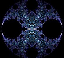 Cloisonne Disk by Ross Hilbert