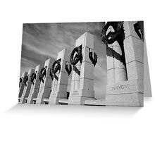 Washington D.C. Greeting Card