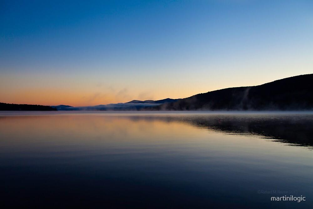 Lake Mists by martinilogic