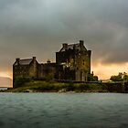 Sunset - Eilean Donan by David Lewins