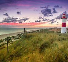 Lighthouse List East (Ellenbogen/Sylt) by Dirk Wiemer