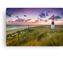 Lighthouse List East (Ellenbogen/Sylt) Canvas Print
