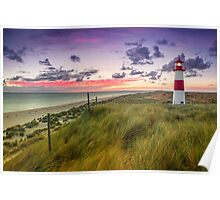 Lighthouse List East (Ellenbogen/Sylt) Poster