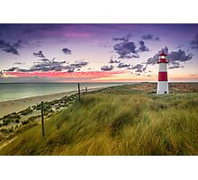 Lighthouse List East (Ellenbogen/Sylt) Photographic Print