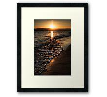 Twilight Seascape Framed Print