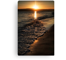 Twilight Seascape Canvas Print