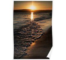 Twilight Seascape Poster