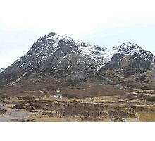 Cottage in Glencoe Photographic Print