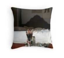 Morning Studio Throw Pillow