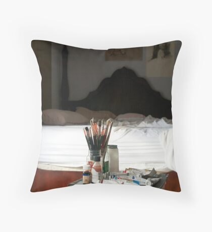 Morning Studio Throw Pillow