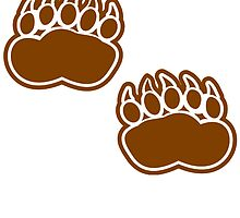 Bear Paw Prints by kwg2200