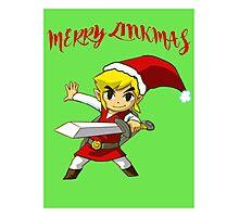 Merry Link,mas Photographic Print