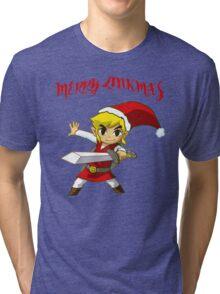 Merry Link,mas Tri-blend T-Shirt