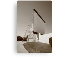 Drive-in Movie Canvas Print