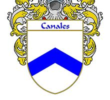 Canales Coat of Arms/Family Crest by William Martin