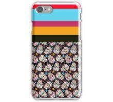 skulls-rainbow iPhone Case/Skin