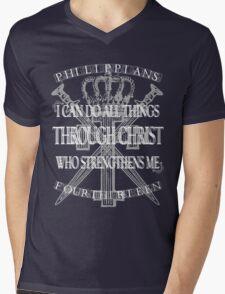 I Can Mens V-Neck T-Shirt
