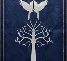 The Steward's Shield (Lord of the Rings) by enthousiasme