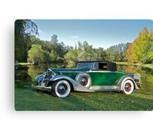 1933 Packard 1006 Convertible Canvas Print