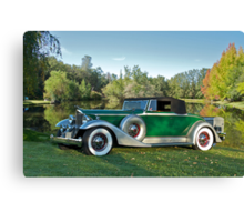 1933 Packard 1006 Convertible Canvas Print