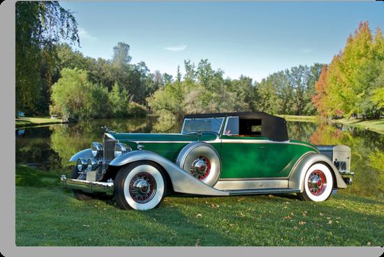 1933 Packard 1006 Convertible by DaveKoontz